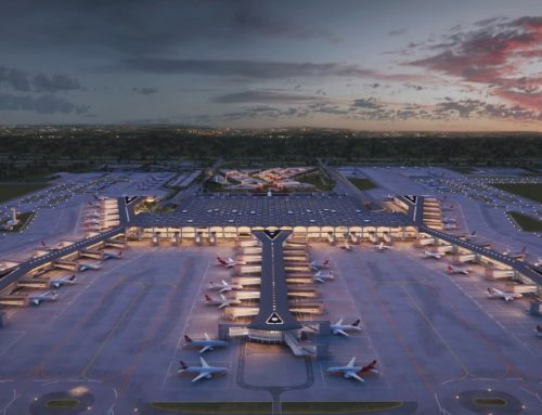 New year start for the newest Istanbul Airport